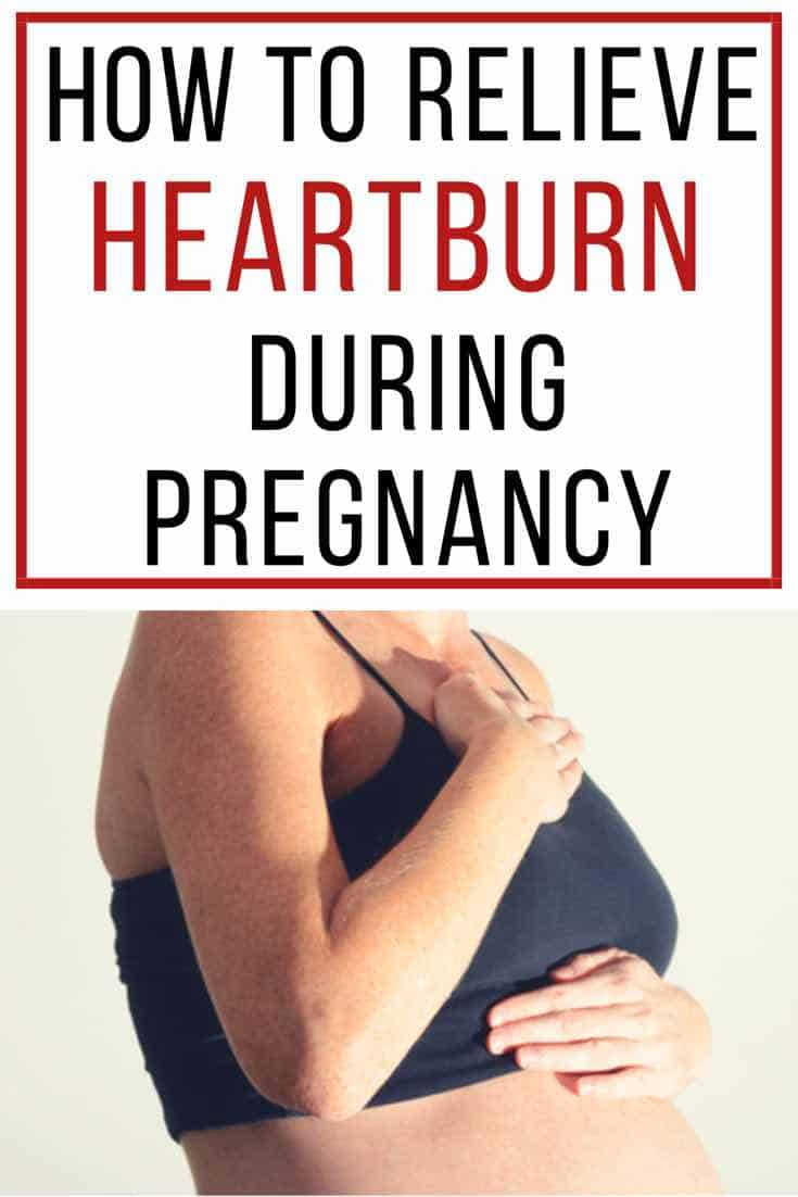 How To Get Rid Of Heartburn During Pregnancy Fast New